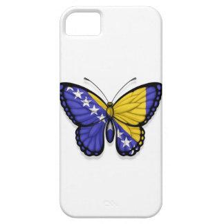 Bandera de la mariposa de Bosnia y Hercegovina iPhone 5 Case-Mate Coberturas