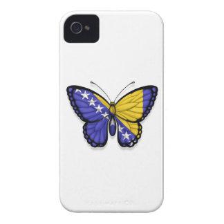 Bandera de la mariposa de Bosnia y Hercegovina iPhone 4 Cobertura