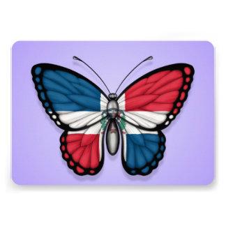Bandera de la mariposa de la República Dominicana Anuncios Personalizados