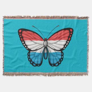 Bandera de la mariposa de Luxemburgo Manta