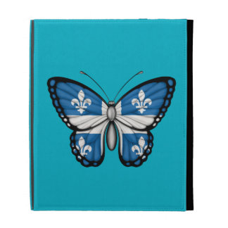 Bandera de la mariposa de Quebec