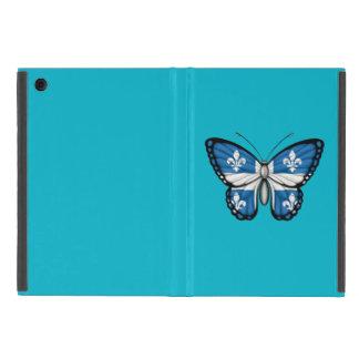 Bandera de la mariposa de Quebec iPad Mini Carcasas