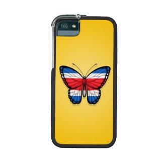 Bandera de la mariposa de Rican de la costa en ama