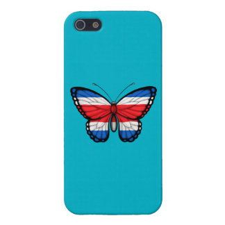 Bandera de la mariposa de Rican de la costa iPhone 5 Cobertura