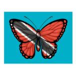 Bandera de la mariposa de Trinidad and Tobago Postal