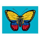 Bandera de la mariposa del Ecuadorian Postal