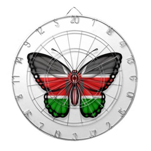 Bandera de la mariposa del Kenyan