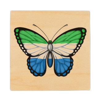 Bandera de la mariposa del Sierra Leone