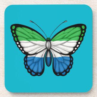Bandera de la mariposa del Sierra Leone Posavaso