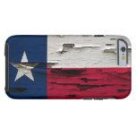 Bandera de la mirada de la cáscara de la pintura funda resistente iPhone 6