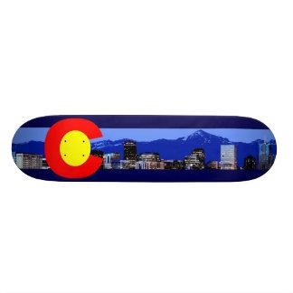 Bandera de la montaña de Colorado Patin Personalizado