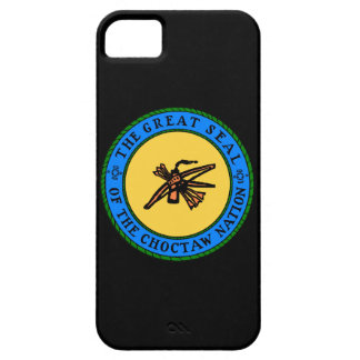 Bandera de la nación del Choctaw iPhone 5 Carcasas