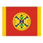Bandera de la nación del Micmac Tarjeta Postal
