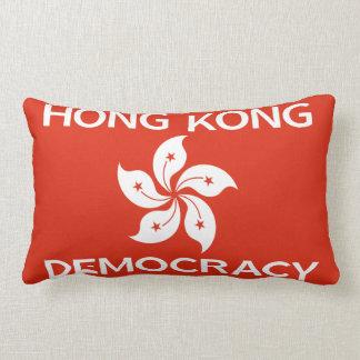 Bandera de la orquídea de Hong Kong de la Cojin