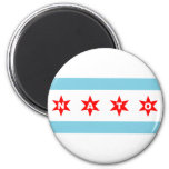 Bandera de la OTAN Chicago Imán Para Frigorifico