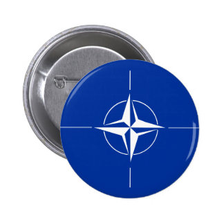 Bandera de la OTAN Pin Redondo De 2 Pulgadas