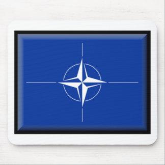 Bandera de la OTAN Tapetes De Raton