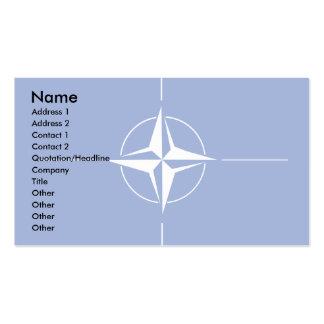 Bandera de la OTAN Tarjetas De Negocios