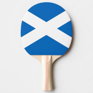 Bandera de la paleta del ping-pong de Escocia Pala De Ping Pong