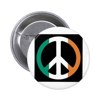 Bandera de la paz de Irlanda Pin