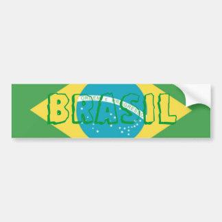 Bandera de la pegatina para el parachoques del Bra Pegatina Para Auto