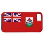 Bandera de la persona de Bermudas de Bermudas iPhone 5 Funda