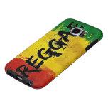 bandera de la pintada del reggae del rasta fundas samsung galaxy s6