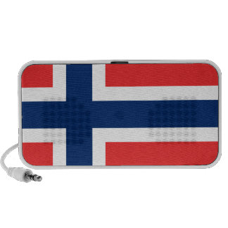 Bandera de la plantilla de Noruega Altavoz De Viajar