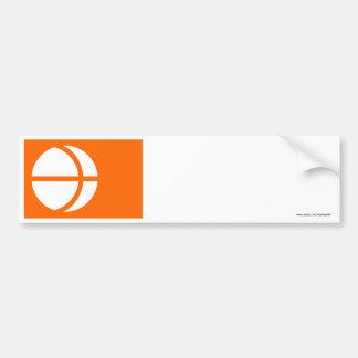 Bandera de la prefectura de Nagano Etiqueta De Parachoque