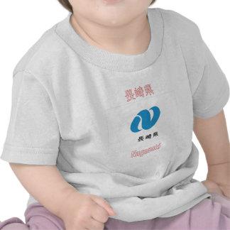 Bandera de la prefectura de Nagasaki Camisetas