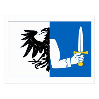 Bandera de la provincia de Connacht Tarjeta Postal