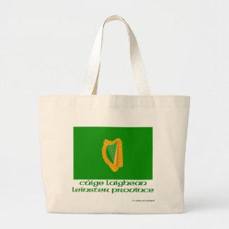 Bandera de la provincia de Leinster con nombre Bolsa