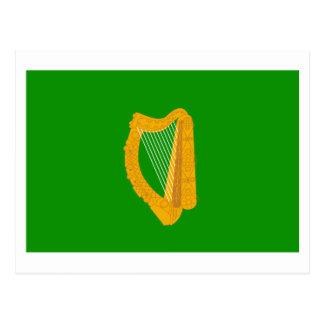 Bandera de la provincia de Leinster Tarjeta Postal