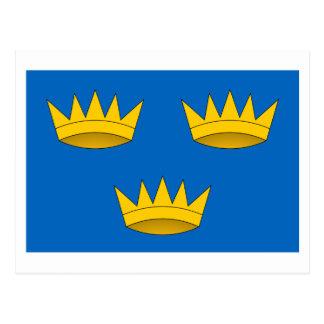 Bandera de la provincia de Munster Tarjeta Postal