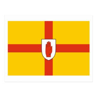 Bandera de la provincia de Ulster Postales