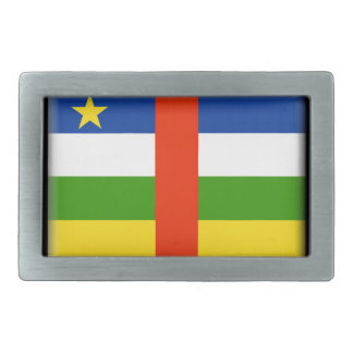 Bandera de la República Centroafricana Hebillas Cinturon Rectangulares