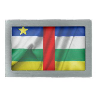 Bandera de la República Centroafricana Hebilla De Cinturon Rectangular
