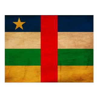 Bandera de la República Centroafricana Postal