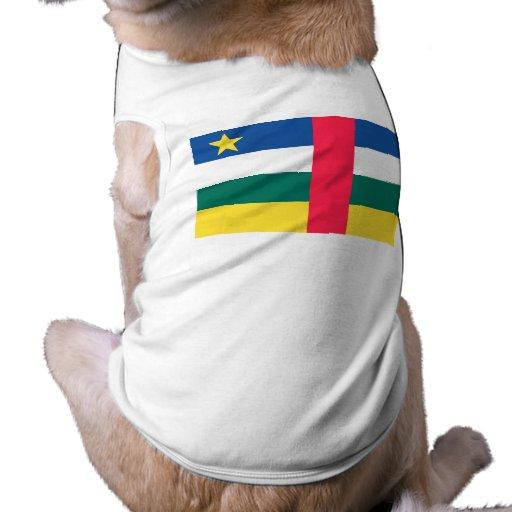 Bandera de la República Centroafricana Ropa Perro