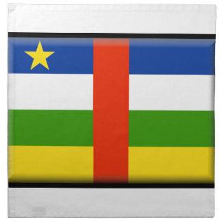 Bandera de la República Centroafricana Servilleta De Papel