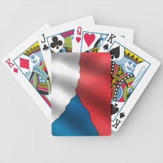 Bandera de la República Checa Baraja Cartas De Poker