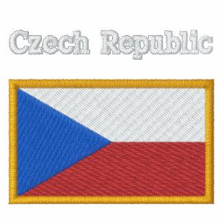 Bandera de la República Checa Polo Bordado