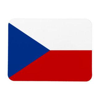 Bandera de la República Checa Imán Flexible