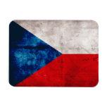 Bandera de la República Checa Imanes Flexibles