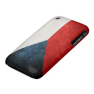 Bandera de la República Checa iPhone 3 Cárcasas