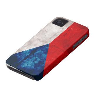 Bandera de la República Checa iPhone 4 Carcasa