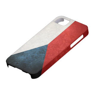 Bandera de la República Checa iPhone 5 Fundas