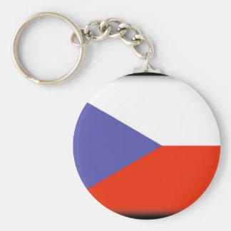 Bandera de la República Checa Llaveros