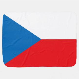 Bandera de la República Checa Manta De Bebé