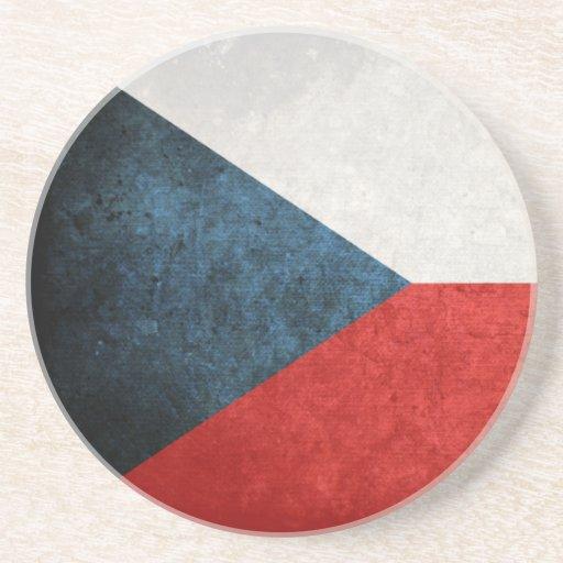 Bandera de la República Checa Posavasos Personalizados